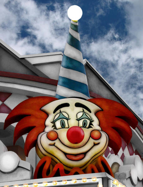 Point Pleasant Photograph - Clown Around by Colleen Kammerer