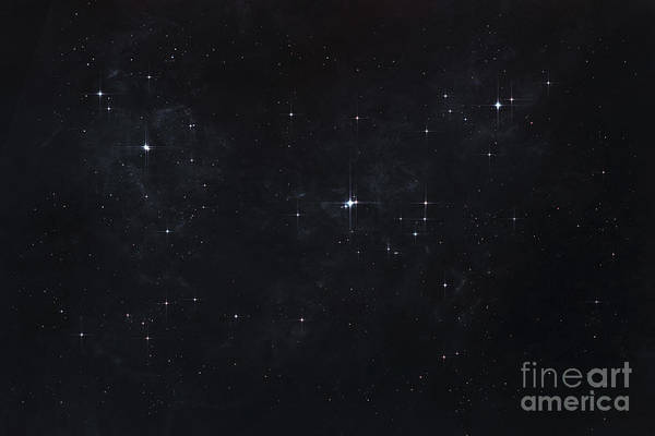 Cosmology Digital Art - Cluster Of Stars In Outer Space by Tomasz Dabrowski