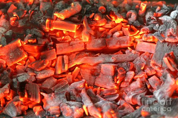 Flammable Wall Art - Photograph - Coal Ash by Francisco Leitao