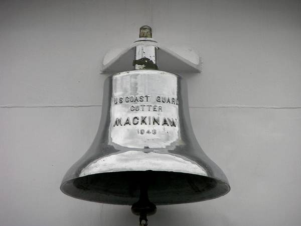 Photograph - Coast Guard Bell by Keith Stokes