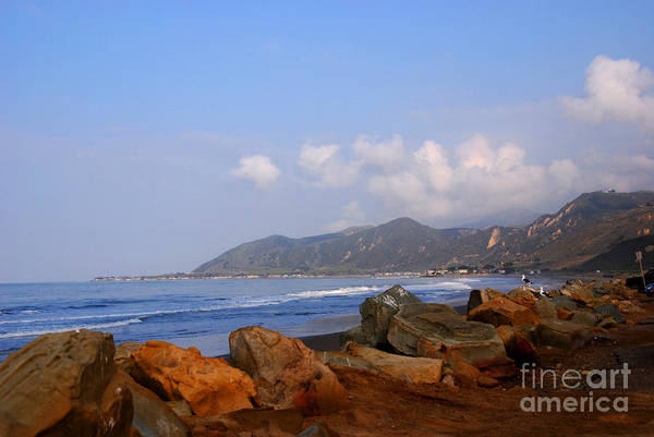 Photograph - Coast Line California by Susanne Van Hulst