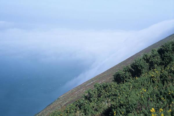 Bristol Channel Photograph - Coastal Mist by David Aubrey