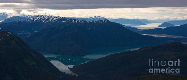 Petersburg Photograph - Coastal Range Fjords by Mike Reid