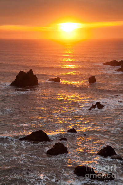 Photograph - Coastal Sunset by Beve Brown-Clark Photography