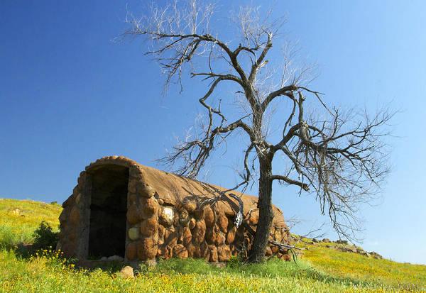 Cellar Digital Art - Cobbled Prairie Shelter by Terry Hollensworth-Rutledge