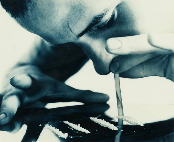 Snorting Wall Art - Photograph - Cocaine Snorting by Cristina Pedrazzini