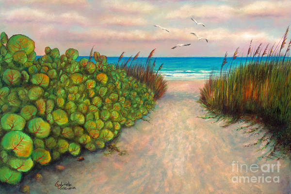 Wall Art - Pastel - Cocoa Beach Sunrise by Gabriela Valencia