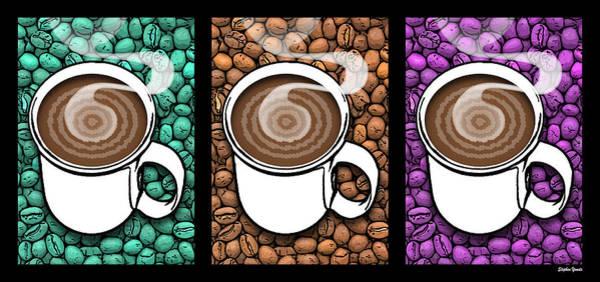 Wake Digital Art - Coffee Break by Stephen Younts