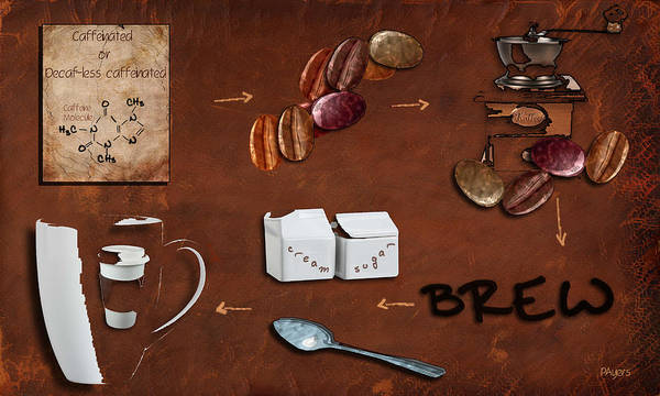 Wall Art - Photograph - Coffee Deconstructed by Paula Ayers