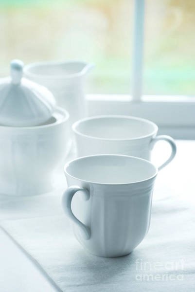 Wall Art - Photograph - Coffee Set by HD Connelly