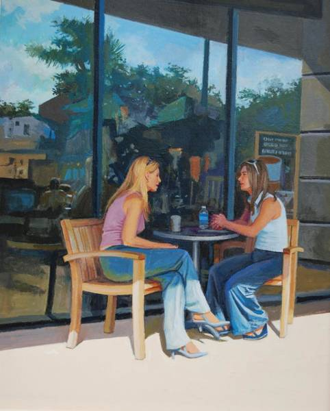 Painting - Coffee Shop by Mel Greifinger