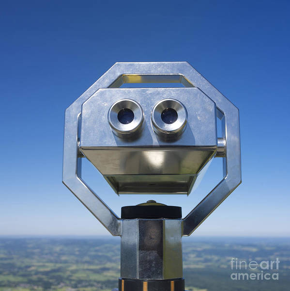 Viewpoint Photograph - Coin-operated Binoculars by Bernard Jaubert