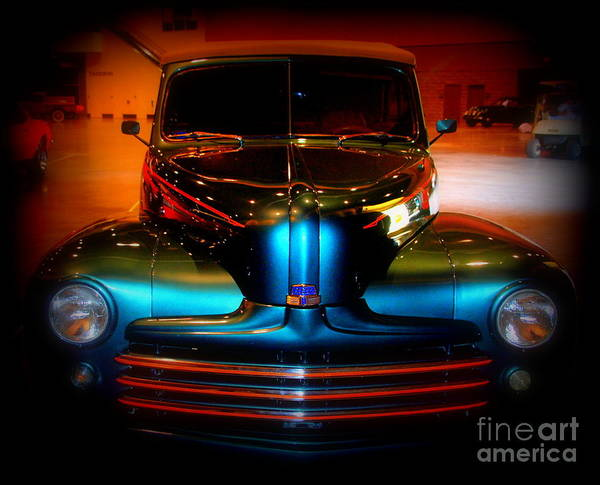 Ford Van Photograph - Collector Car by Susanne Van Hulst