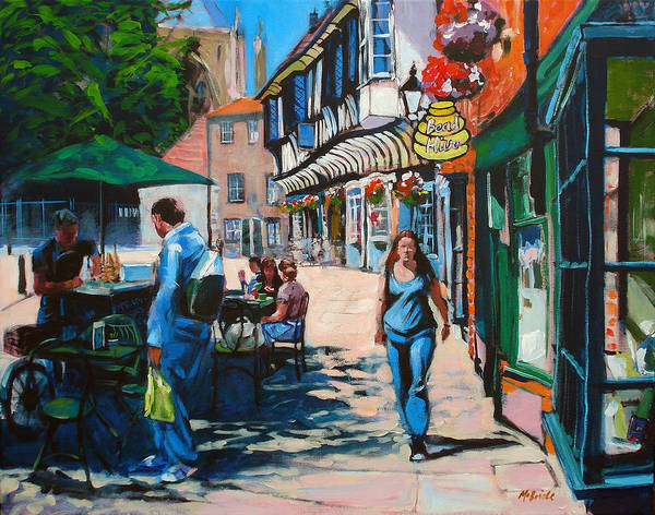 Half Timbered Painting - College Street York by Neil McBride
