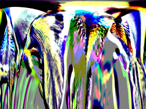 Digital Art - Color Fountain by James Granberry