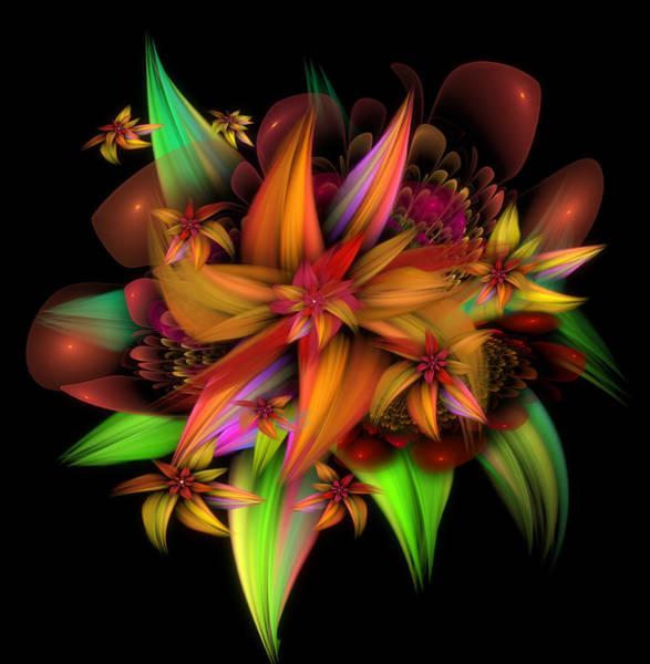 Digital Art - Color In Bloom by Karla White