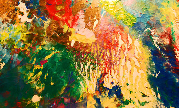 Wall Art - Painting - Color Rain by Gloria Warren