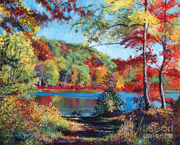 Painting - Color Rich Harriman Park by David Lloyd Glover