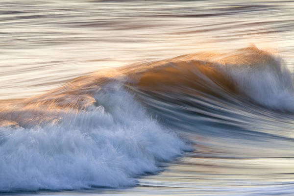 Shutter Speed Photograph - Color Wave Ll by Rob Travis