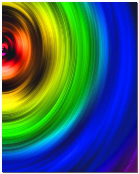 Digital Art - Color Wheel by Susan Kinney