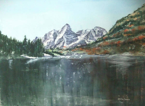 Painting - Colorado Beauty by Debbie Lewis