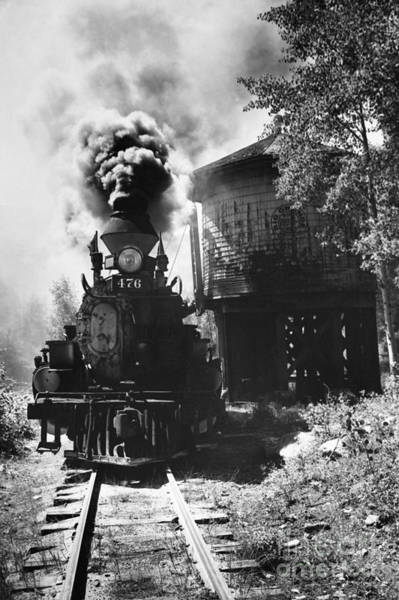 Wall Art - Photograph - Colorado Train by Myron Wood and Photo Researchers