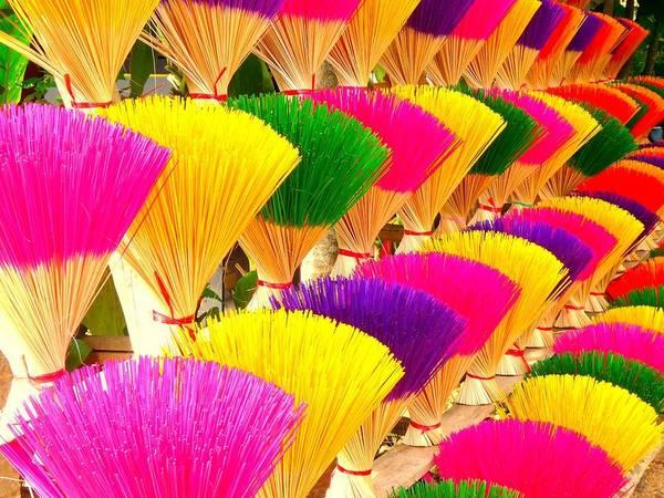 Neon Pink Photograph - Colored Incense by Studio Yuki