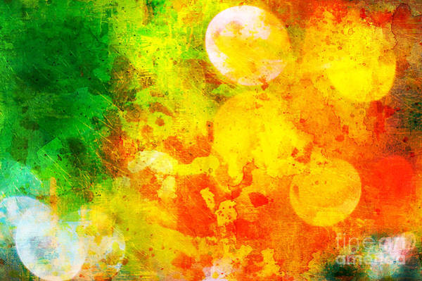 Wall Art - Photograph - Colorful And Smeared by Silvia Ganora