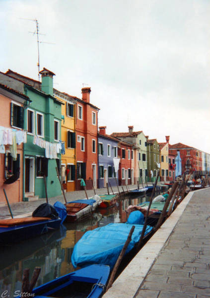 Colorful Burano Art Print