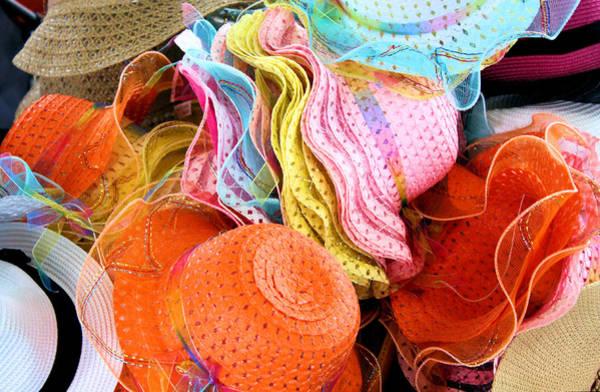 Millinery Photograph - Colorful Chapeaux by Kristin Elmquist