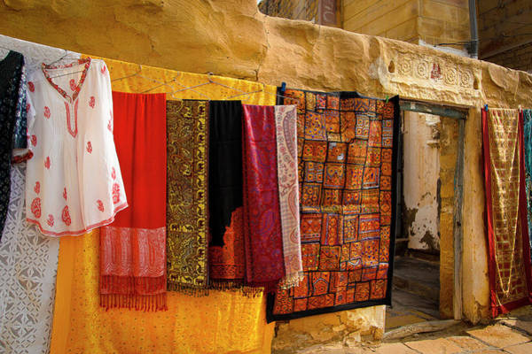 Photograph - Colorful Cloths by Created by Swasti Verma