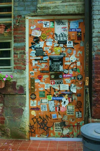 Wall Art - Photograph - Colorful Doorway by Dennis Curry