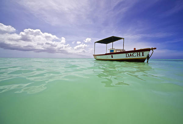 Photograph - Colorful Fishing Boat Of The Caribbean  by David Letts