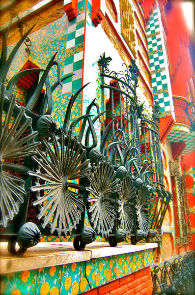 Photograph - Colorful Gaudi by HweeYen Ong