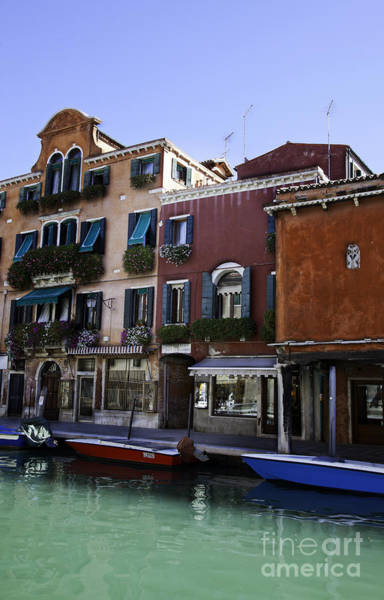 Houses Wall Art - Photograph - Colors Of Venice by Madeline Ellis