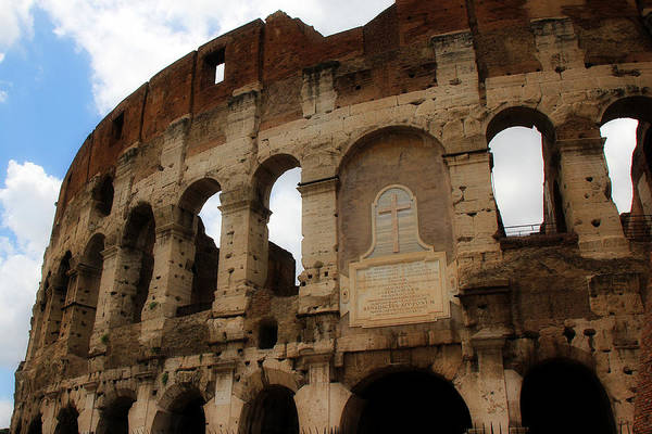 Photograph - Colosseum 1 by Andrew Fare