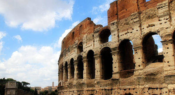 Photograph - Colosseum 4 by Andrew Fare