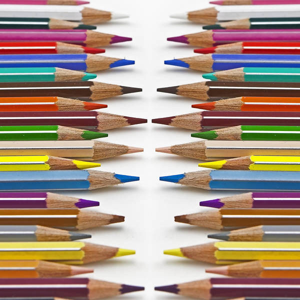 Pencil Drawing Photograph - Coloured Pencil by Joana Kruse