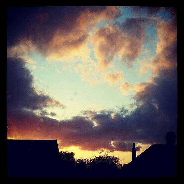 Grace Wall Art - Photograph - Colourful Sky by Grace Bryant