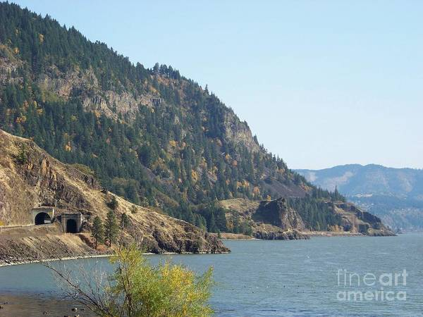 Photograph - Columbia River Headlands Tunnels by Charles Robinson