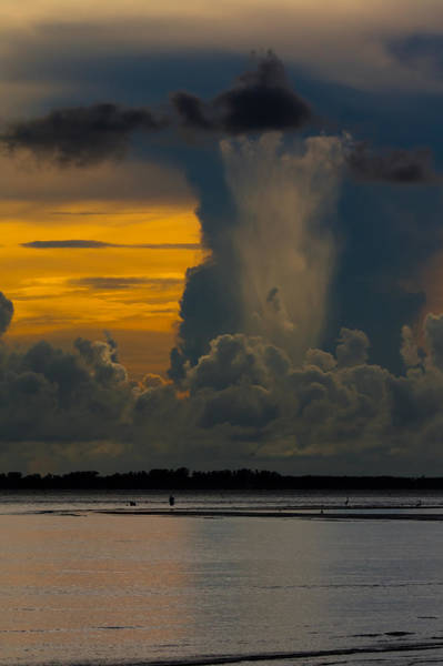 Photograph - Column Over Sanibel by Ed Gleichman