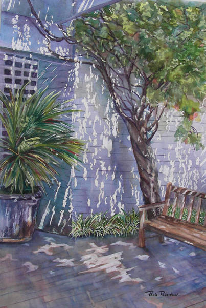 Painting - Come Sit A While by Paula Robertson