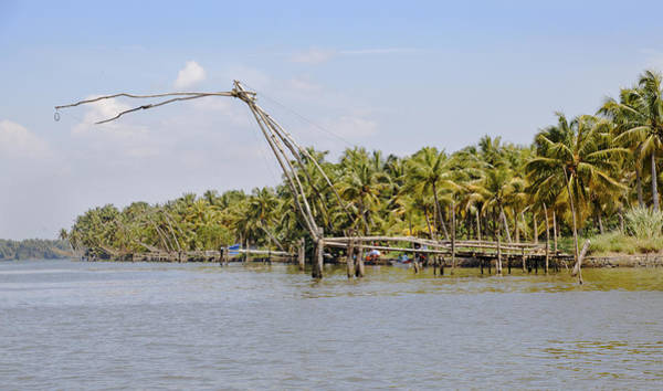 Bankside Photograph - Commercial Fishing by Kantilal Patel
