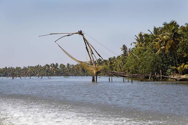 Bankside Photograph - Commercial Fishing Kerala by Kantilal Patel