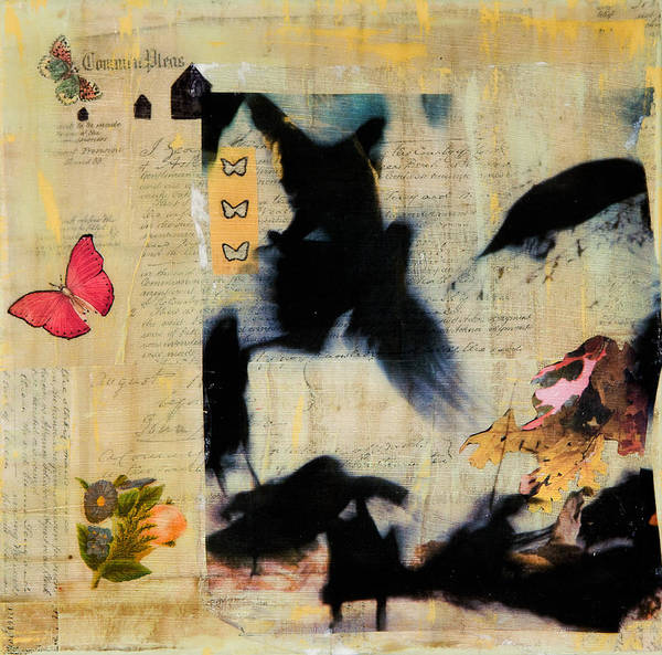 Transfer Mixed Media - Common Pleas by Regina Thomas