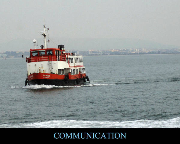 Photograph - Communication Motivational by John Shiron