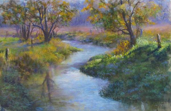 Pastel - Compliments Of Fall by Bill Puglisi