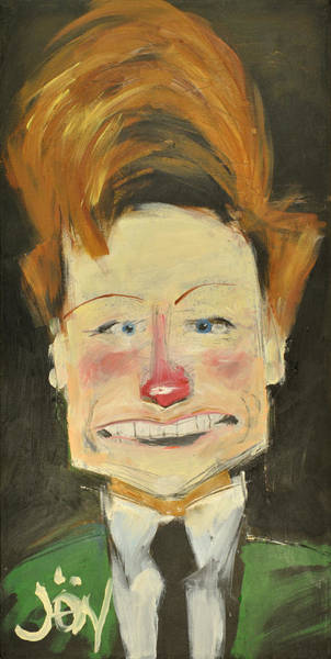Painting - Conan O Brien Aka Coco By Jon by Tim Nyberg