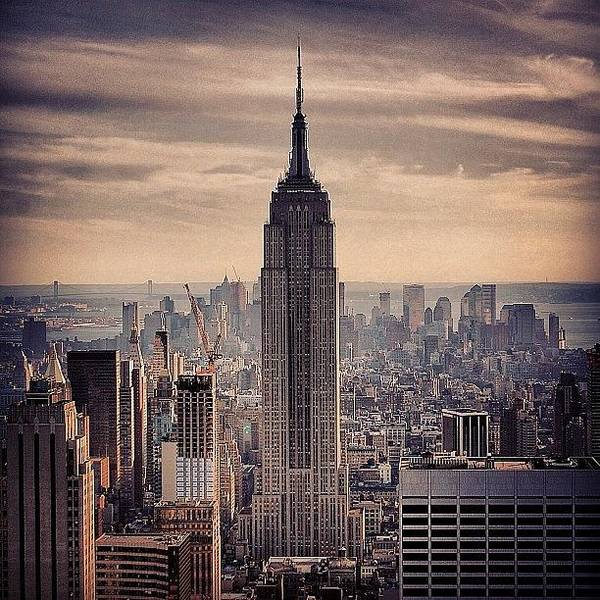 Skyscraper Photograph - Concrete Jungle - New York by Joel Lopez