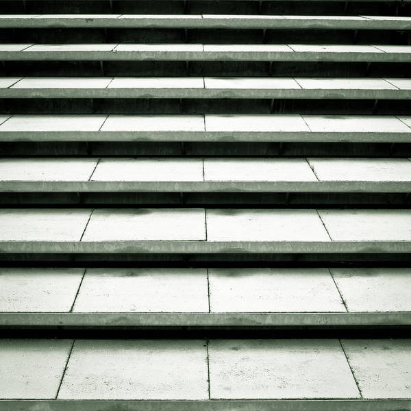 Promotion Photograph - Concrete Steps by Tom Gowanlock